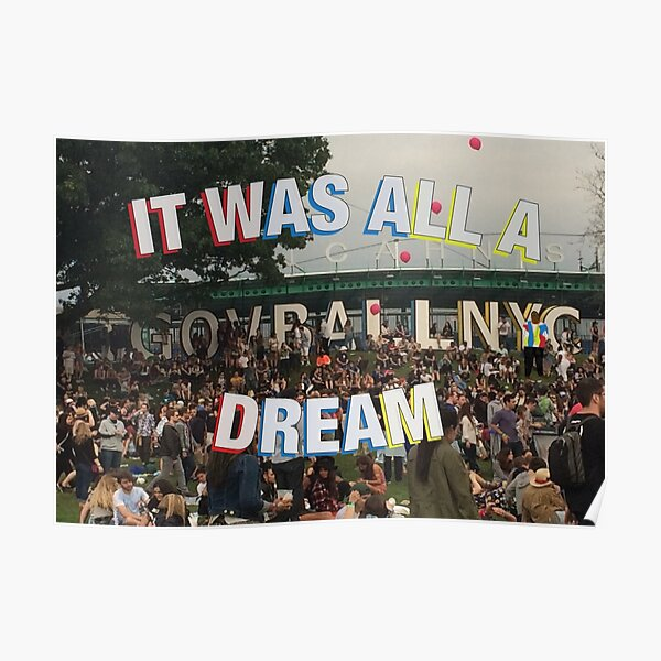 Governors Ball Dream Poster