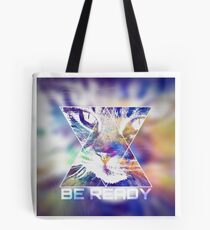 BE READY CAT (colored) Tote Bag