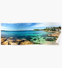shelly beach, manly Poster