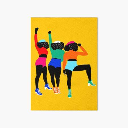 HAUT en couleurs 01 Art Board Print