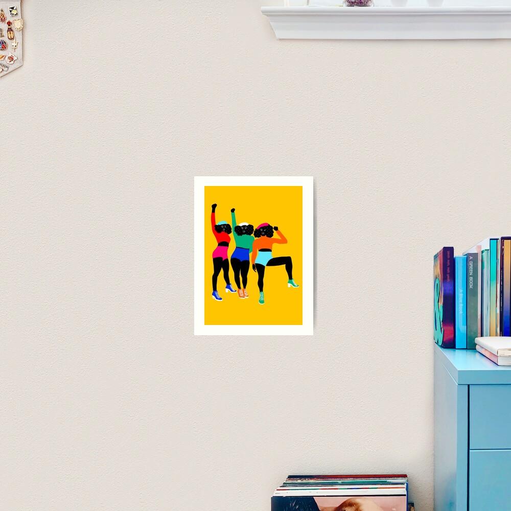 HAUT en couleurs 01 Art Print