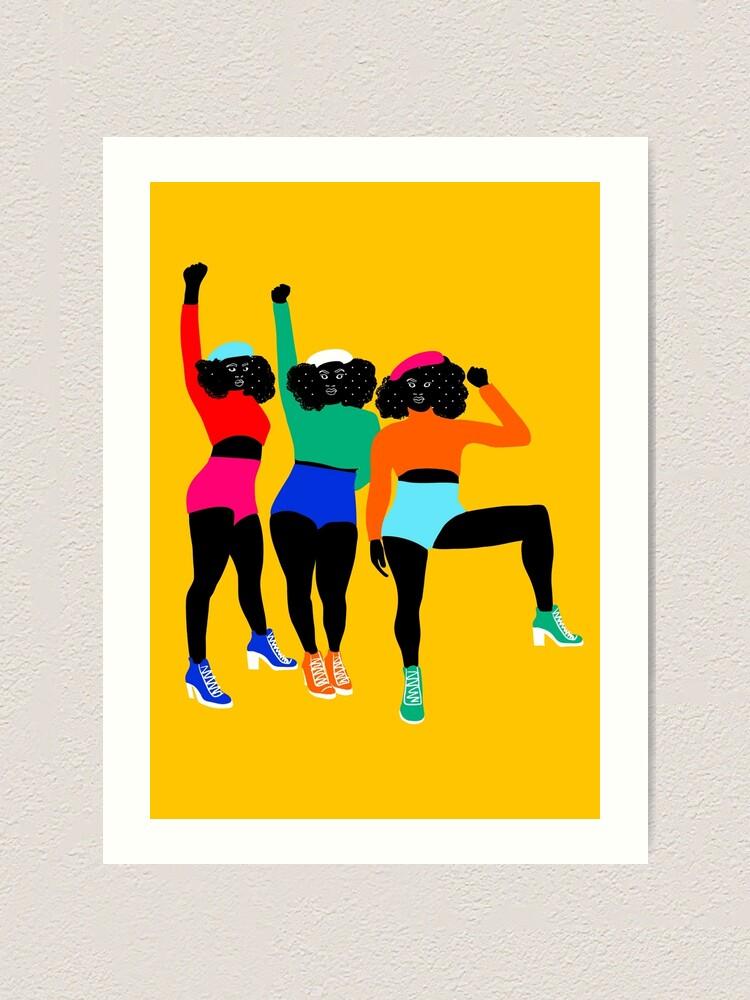 Alternate view of HAUT en couleurs 01 Art Print