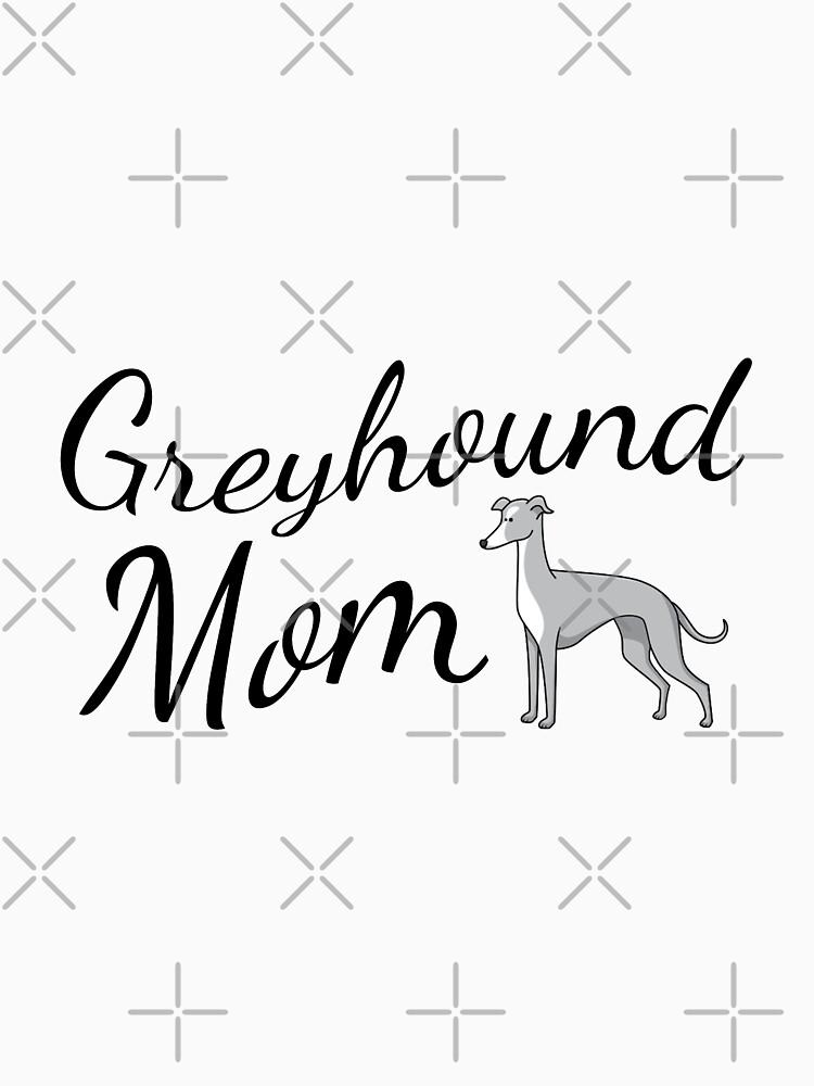 Greyhound Mom by tribbledesign