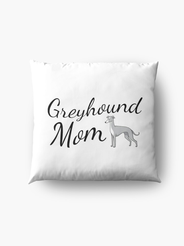 Alternate view of Greyhound Mom Floor Pillow