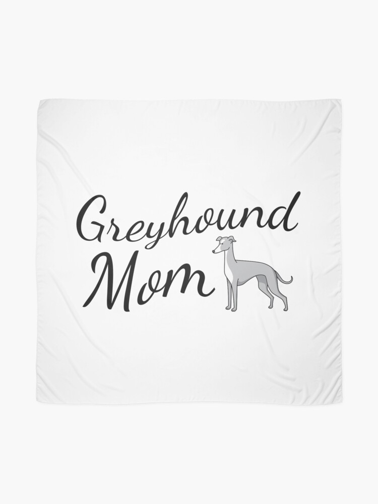 Alternate view of Greyhound Mom Scarf