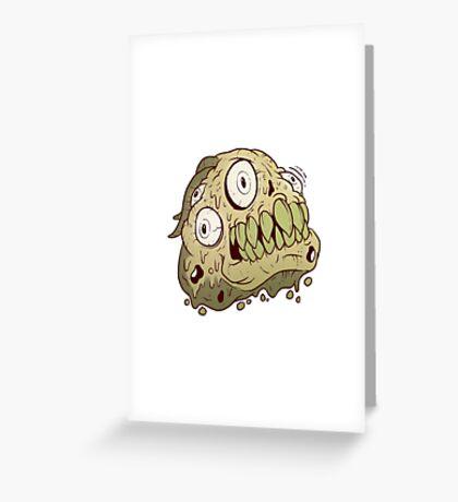 Snotbro Greeting Card