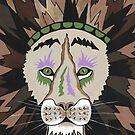Dschungelkönig Löwe von Sartoris Art & Photography