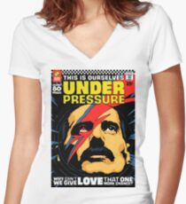 The Pressure Women's Fitted V-Neck T-Shirt