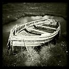 Old Rowing Boat - Brancaster Staithe, Norfolk, UK by Richard Flint