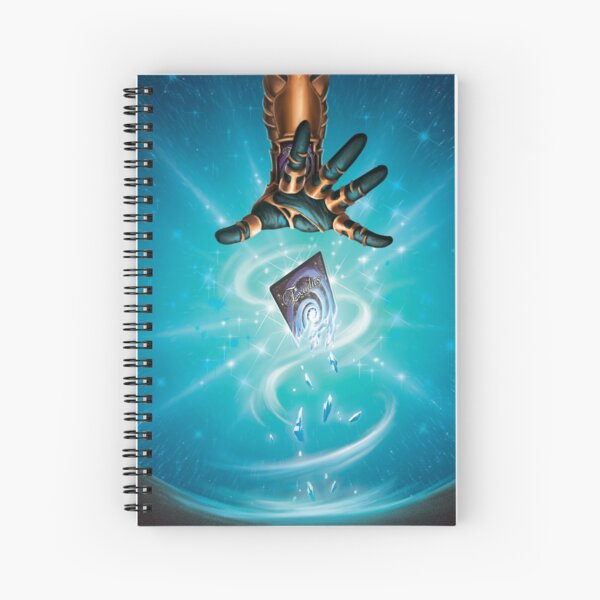 Dimensional Dust Spiral Notebook