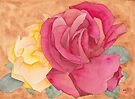 Two Roses by Ken Powers