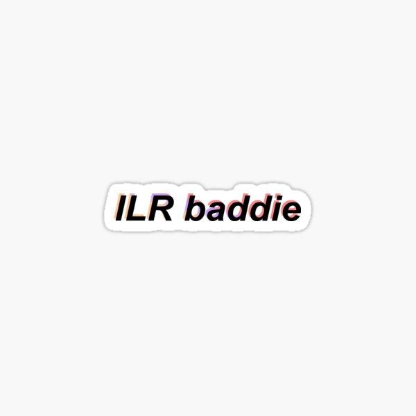 ILR baddie – red Sticker