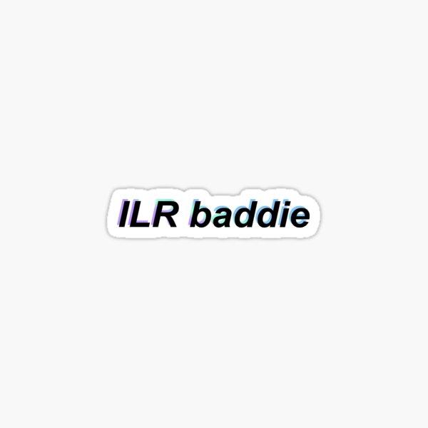 ILR baddie – blue Sticker