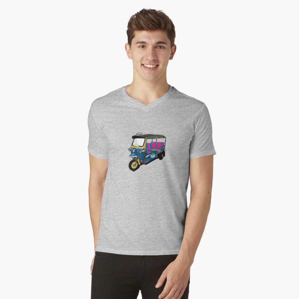 Tuk Tuk V-Neck T-Shirt