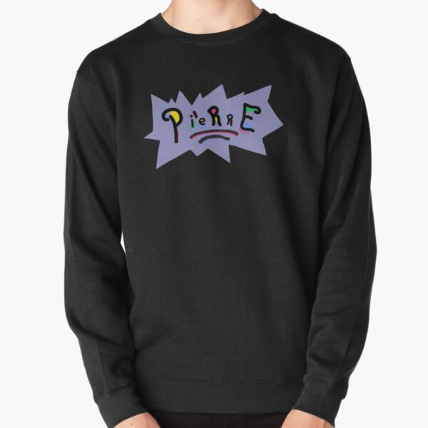 Pierre Bourne - Text Art Pullover Sweatshirt