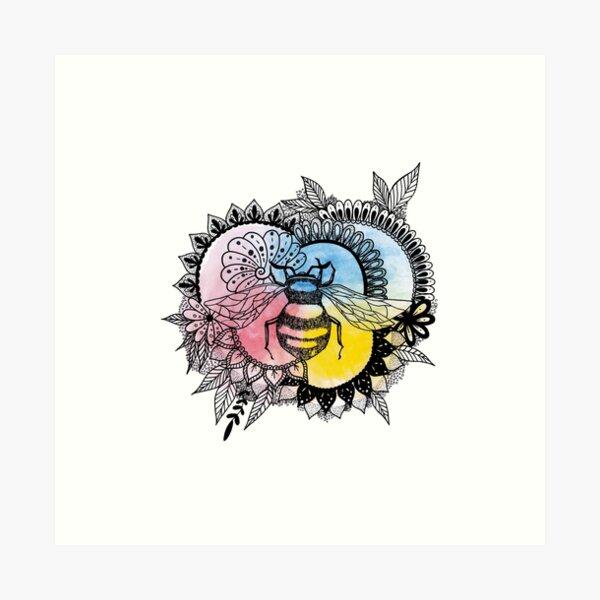 Bee Original Art Print