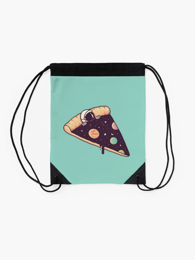 Alternate view of Galactic Deliciousness Drawstring Bag