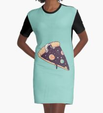 Galactic Deliciousness Graphic T-Shirt Dress