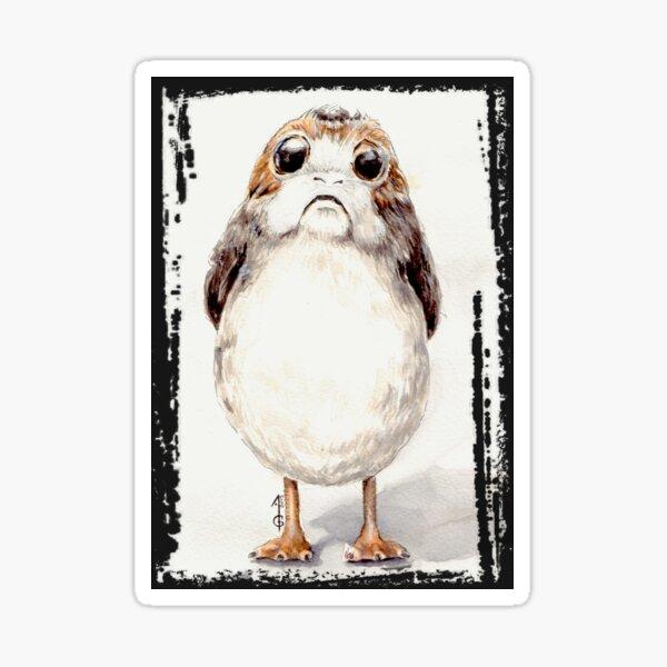 Cutie weird space bird Sticker