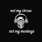 Not my Circus Not My Monkeys funny saying by Angie Stimson