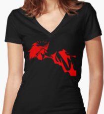 Cowboy Bebop - ED Women's Fitted V-Neck T-Shirt