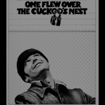 grayscale one flew over the cuckoos nest by TheBoyTeacher