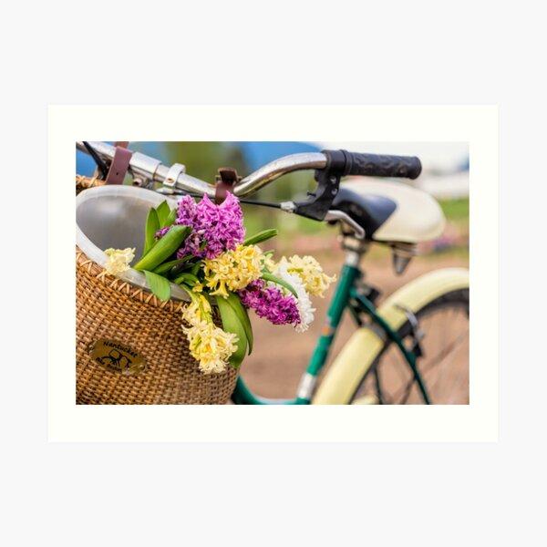 Spring Basket Art Print