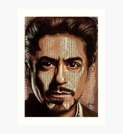 Robert Downey jr Art Print
