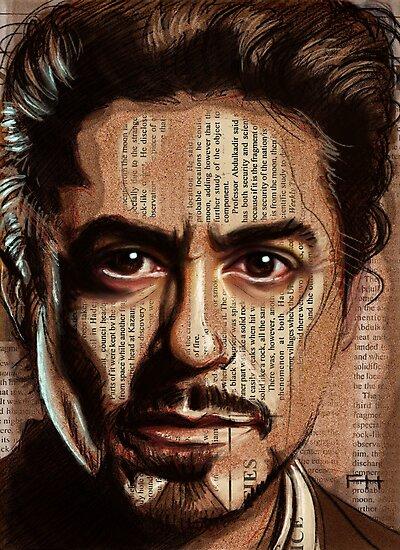 Robert Downey jr by Fay Helfer