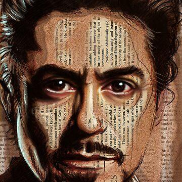 Robert Downey jr by FayHelfer