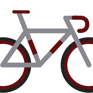 Road bike by xgradoux