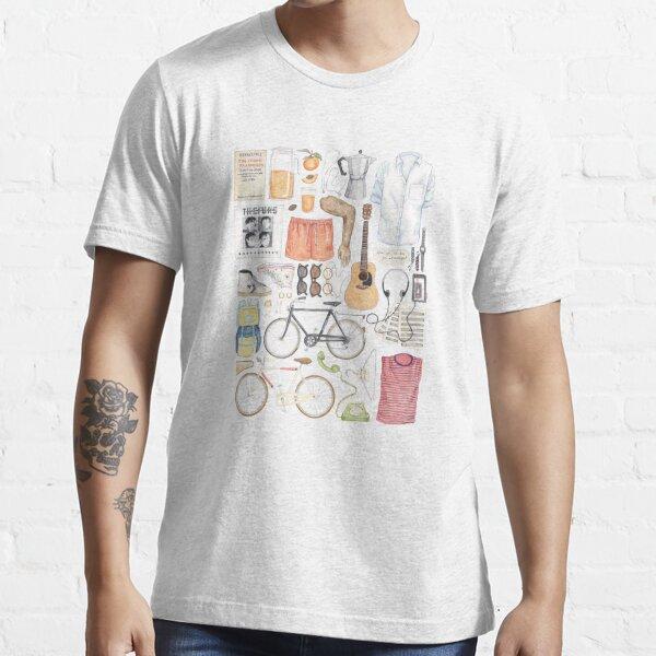 Llámame por tu nombre Minimal Illustration Painting Camiseta esencial