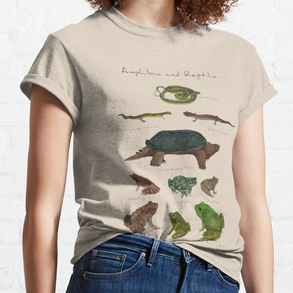 Amphibians and Reptiles Classic T-Shirt