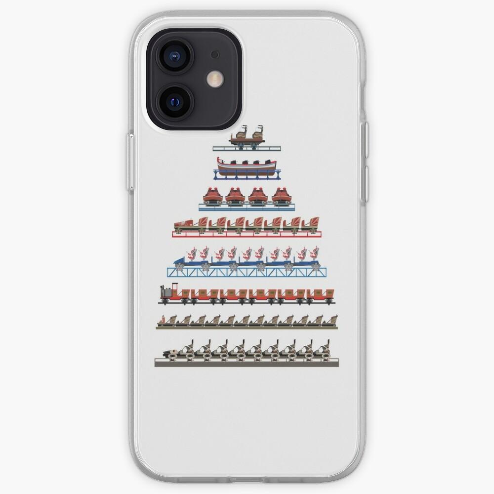 Europa Park Coaster Trains Design   Coque iPhone