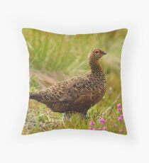 Famous Grouse Throw Pillow