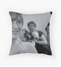 Apologies for late replies, but a tad busy right now Throw Pillow