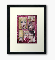 Darren Criss as Hedwig Framed Print