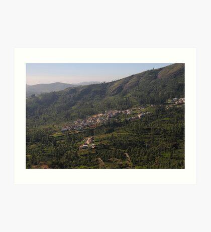 Nilgiri Hills, Resort,  Art Print