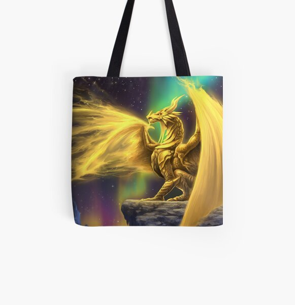 Ethereal Aurorialis All Over Print Tote Bag