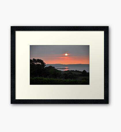 Kerry Sunset 2 Framed Print