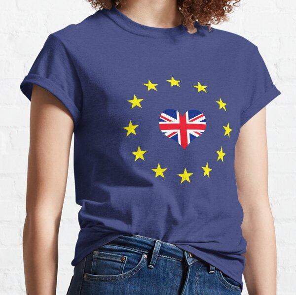 Anti Brexit Turn Cancel Brexit Pro Europe design Classic T-Shirt