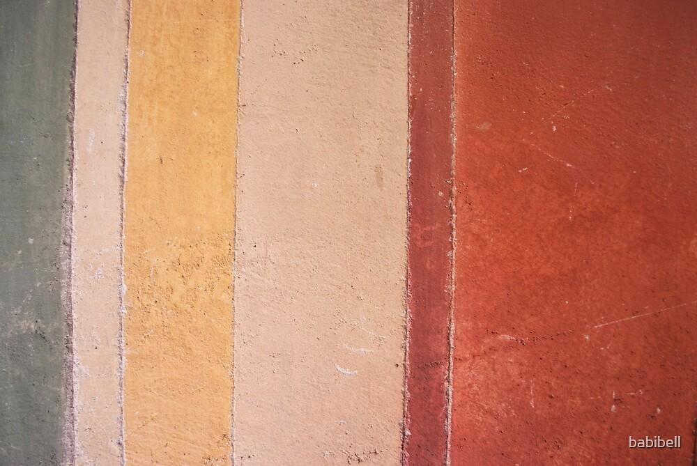 Villa d'Este Striped Wall by babibell
