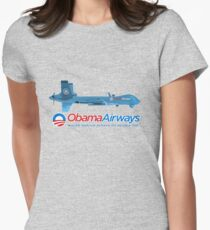 Obama Airways Women's Fitted T-Shirt