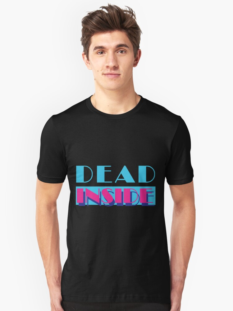 Alternate view of Dead Inside (Miami Vice) Slim Fit T-Shirt