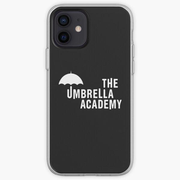La Academia del paraguas - blanco Funda blanda para iPhone