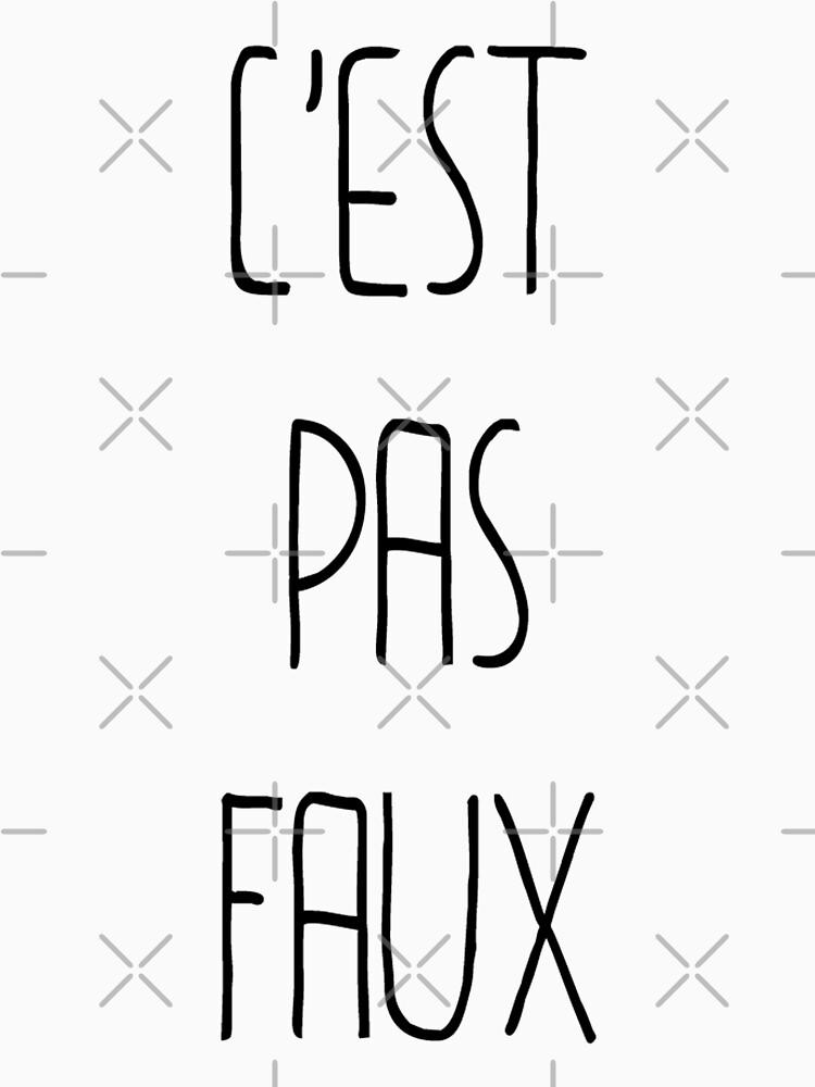 «C'EST PAS FAUX» par Timena