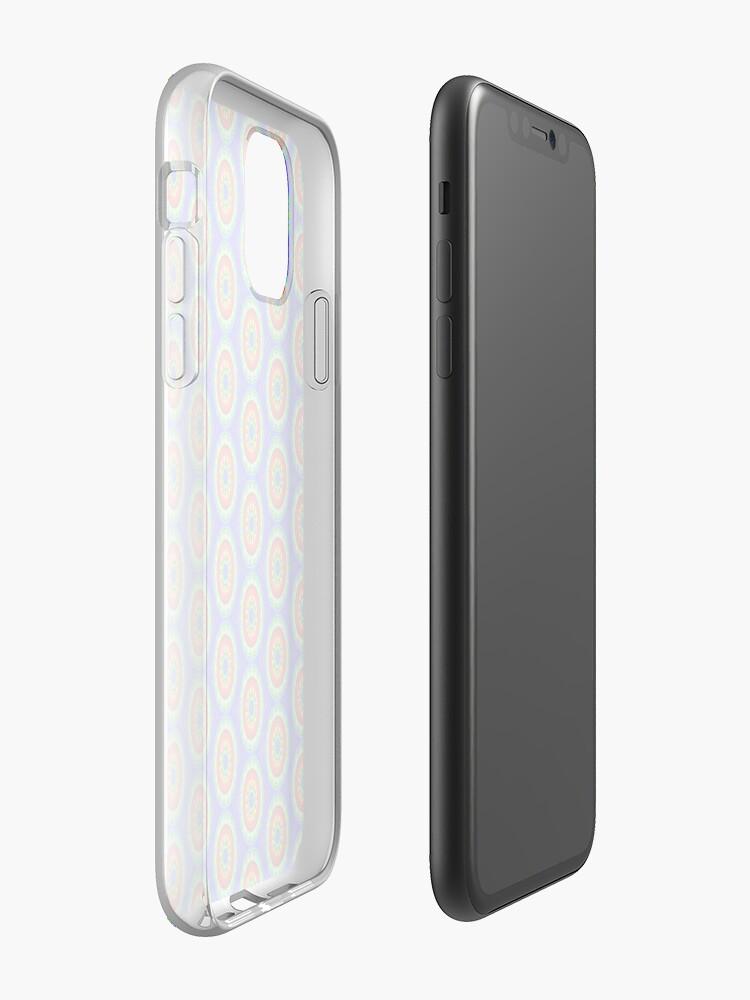 coque x doria , Coque iPhone «Roue arc-en-ciel», par JLHDesign