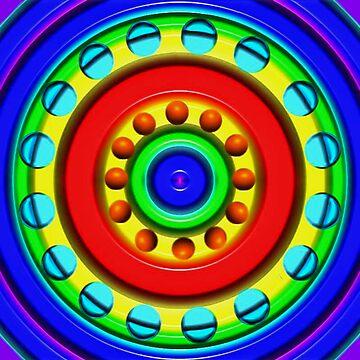 Rainbow Wheel by JLHDesign
