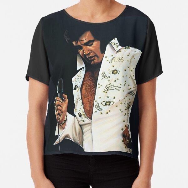 Elvis Presley Painting Chiffon Top
