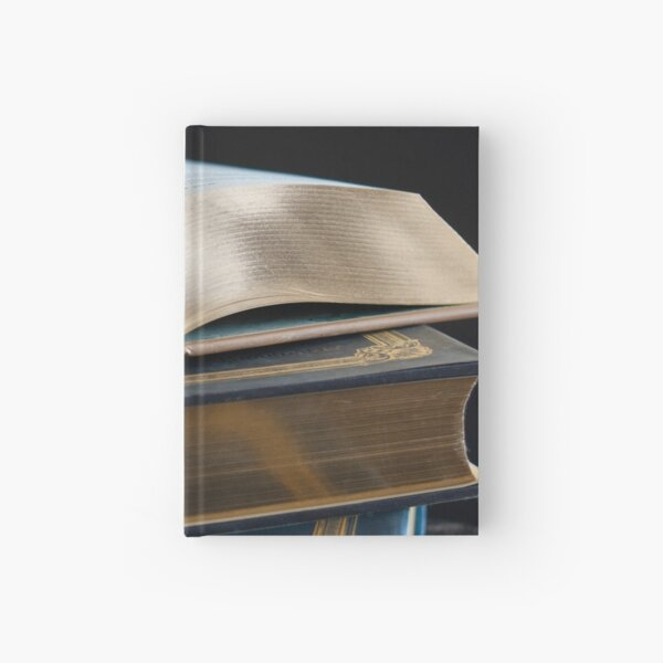 Golden Pages Hardcover Journal